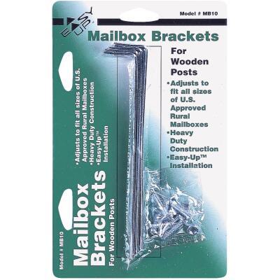 Gibraltar Adjustable Metal Mailbox Bracket (4-Piece)