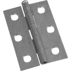 National 2-1/2 In. Zinc Loose-Pin Narrow Hinge (2-Pack) Image 1