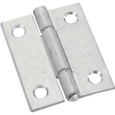 National 2 In. Zinc Tight-Pin Narrow Hinge (2-Pack)