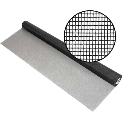 Phifer 36 In. x 100 Ft. Charcoal Fiberglass Mesh Screen Cloth