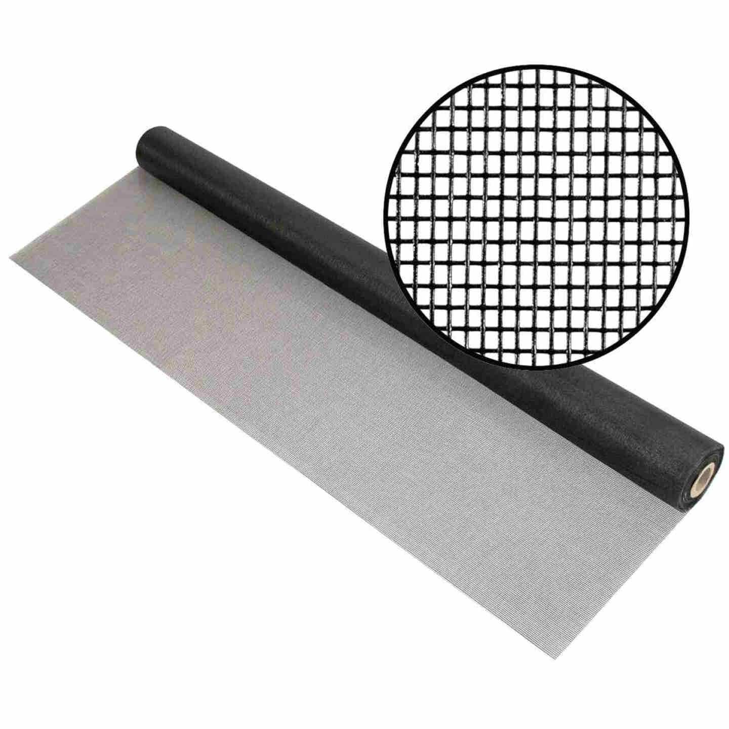Phifer 72 In. x 100 Ft. Charcoal Fiberglass Mesh Screen Cloth Image 1