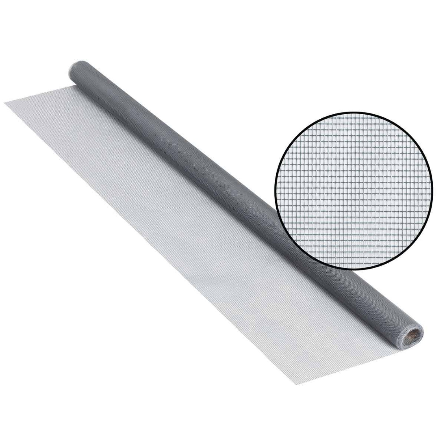 Phifer 24 In. x 84 In. Gray Fiberglass Screen Cloth Ready Rolls Image 1