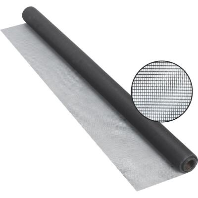 Phifer 36 In. x 25 Ft. Charcoal Fiberglass Screen Cloth