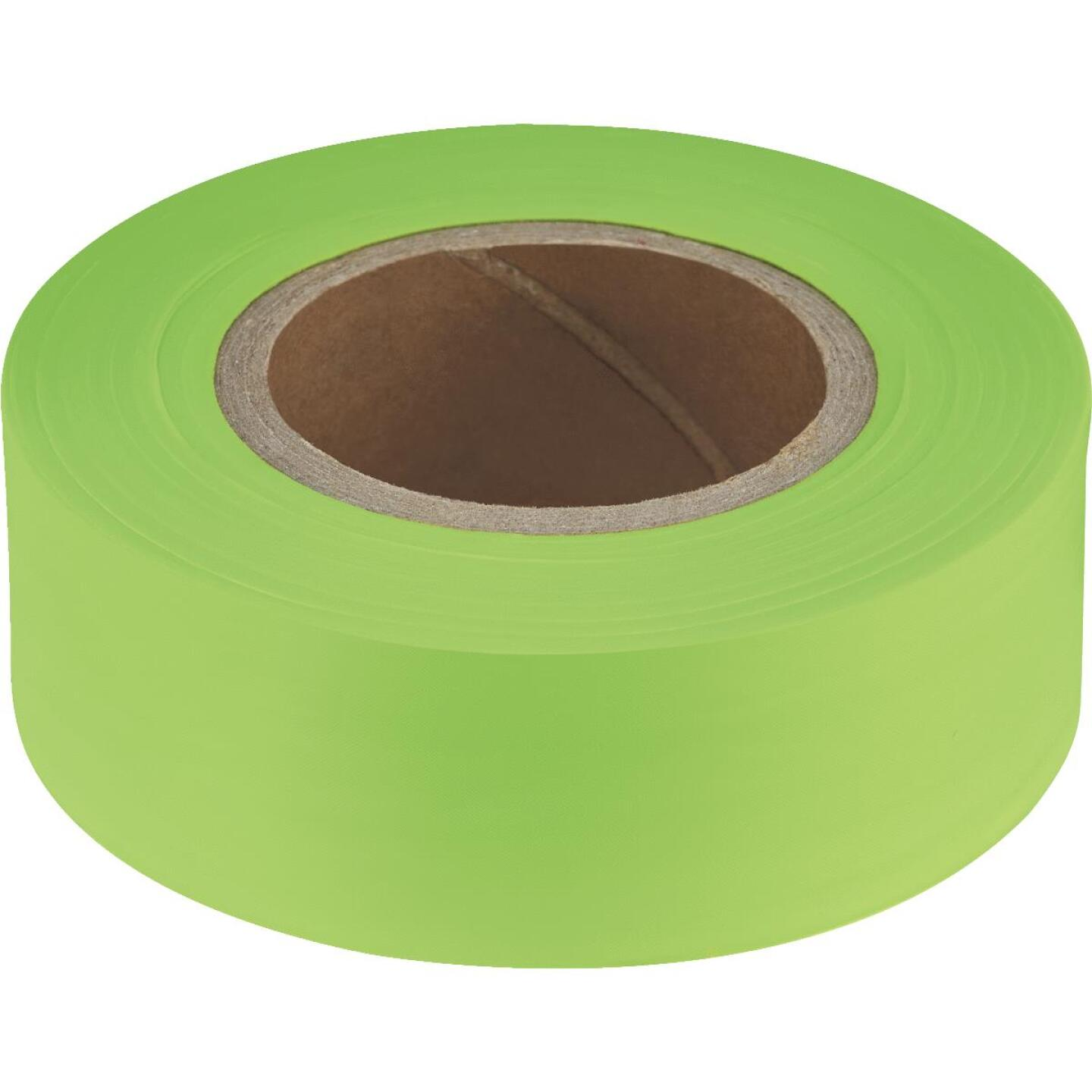 Empire 200 Ft. x 1 In. Lime Flagging Tape Image 1