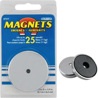 Master Magnetics 2 in. 25 Lb. Magnetic Base