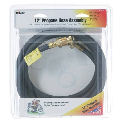 MR. HEATER 12 Ft. x Swivel 1 In.-20 MTCT Mr. Heater Buddy LP Hose Assembly