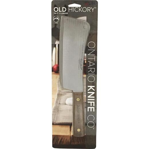 Old Hickory 7 In. Straight Edge Cleaver