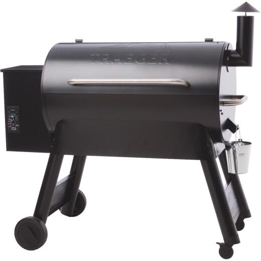 Traeger Pro Series 34 Blue 36,000-BTU 884 Sq. In. Wood Pellet Grill